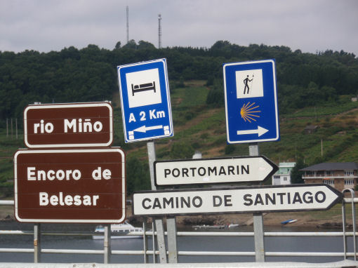 Indicaciones camino de santiago Camino de Santiago
