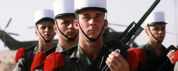 alistarse legión extranjera