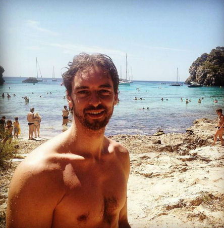 Gasol en Menorca